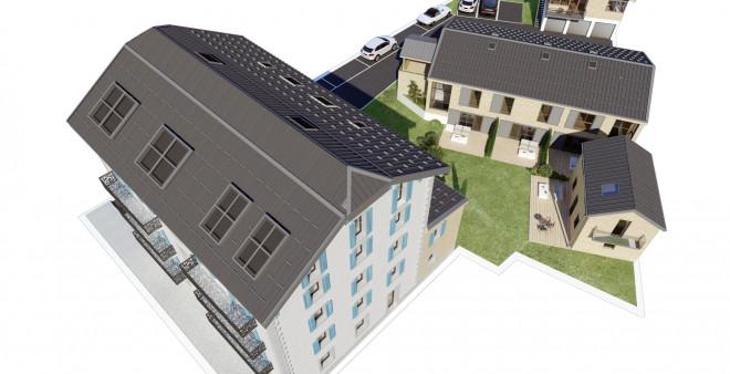 Le Clos des Roches - Nouveau dévelopement d'appartements et maisonnettes 2 et 3 chambres - Village des Praz