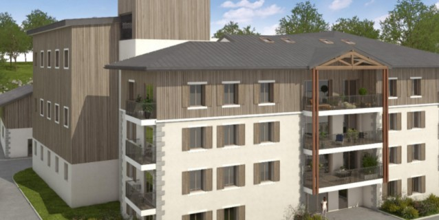 WHITE PEARL A11 / 3 BED / 2 BATH OFF PLAN APARTMENT  89 m2 - CHAMONIX CENTER