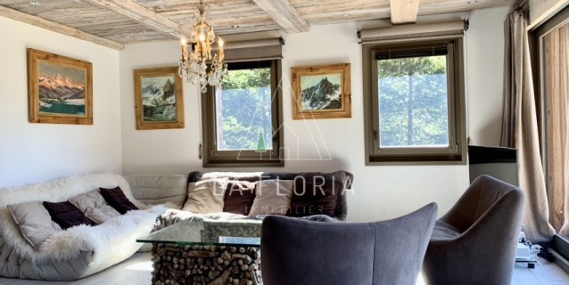 CHALET CHARDONNET AND BUILDABLE PLOT OF LAND, CHAMONIX VALLEY