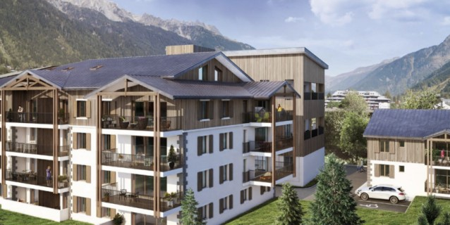 WHITE PEARL A36 APARTMENT OF 108 M2 CHAMONIX CENTRE